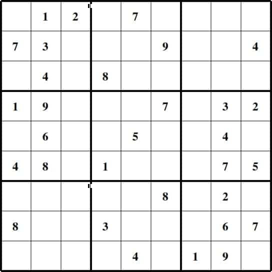 photograph about Sudoku Printable Medium named Sudoku Medium Printable Quotation Visuals High definition No cost