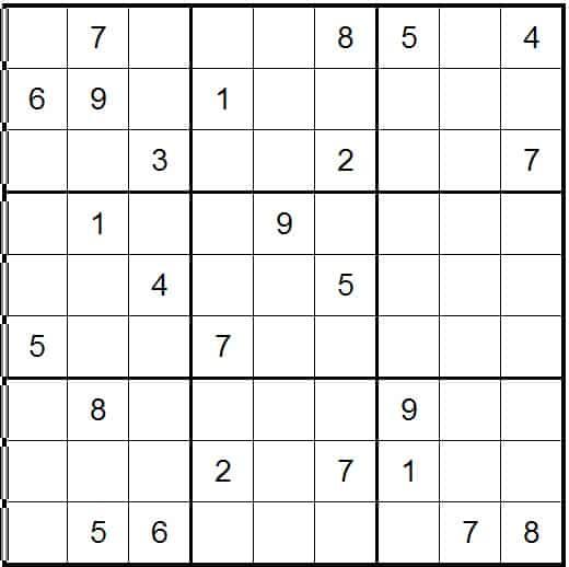 Sudoku Online Easy
