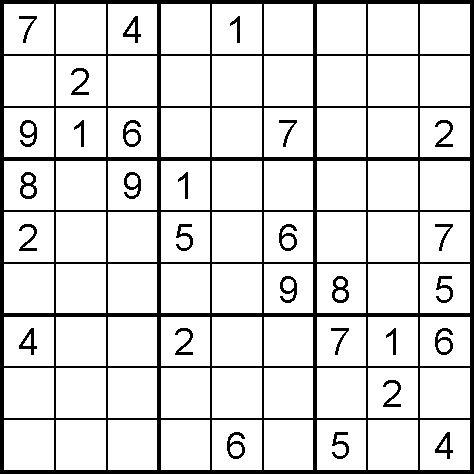 Sudoku Online Free Image