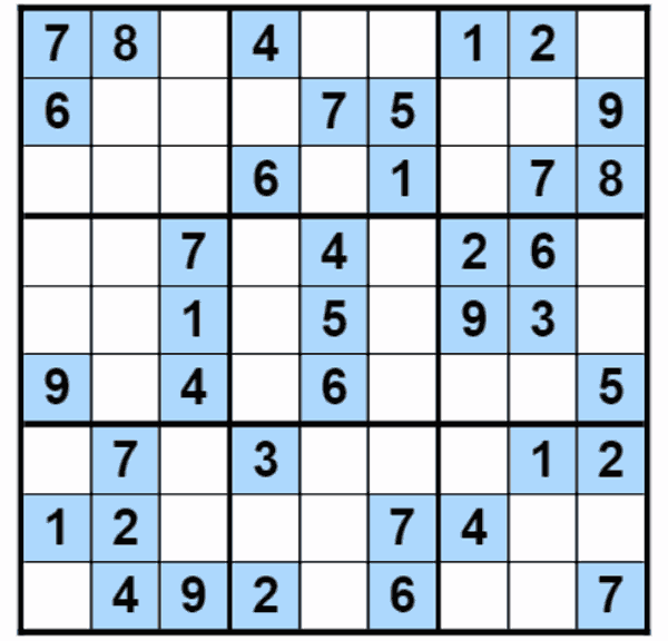 Sudoku Pictures