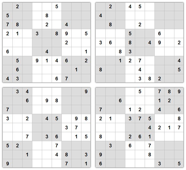 Sudoku Print Out
