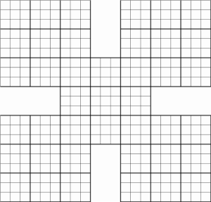 Sudoku Printable Grid