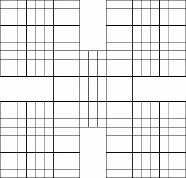 graphic about Sudoku Printable Grids identified as Sudoku Printable Grids Quotation Photos High definition Cost-free