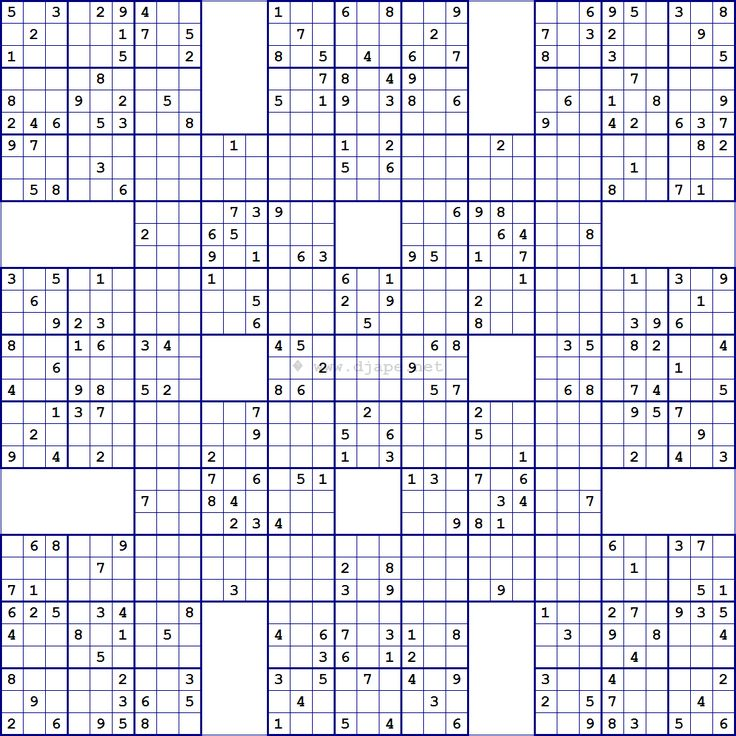 Sudoku Printable Grids Idea
