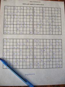 Sudoku Printable Grids Worksheet