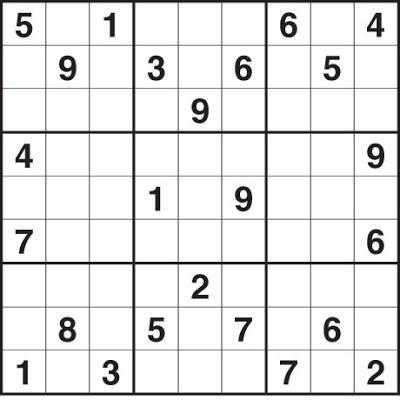 Sudoku Printable Medium