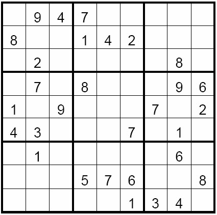 It is a graphic of Medium Sudoku Printable inside easy