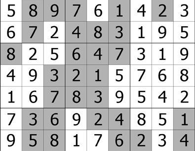Sudoku Puzzle Answers