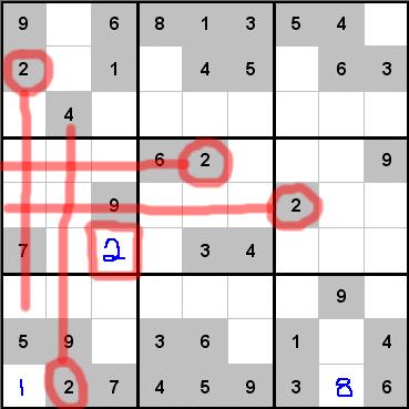 Sudoku Puzzle Hints