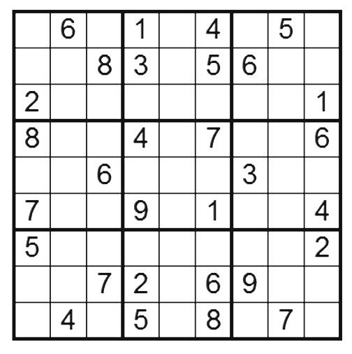 Sudoku Puzzle Image