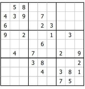 Sudoku Puzzle Online