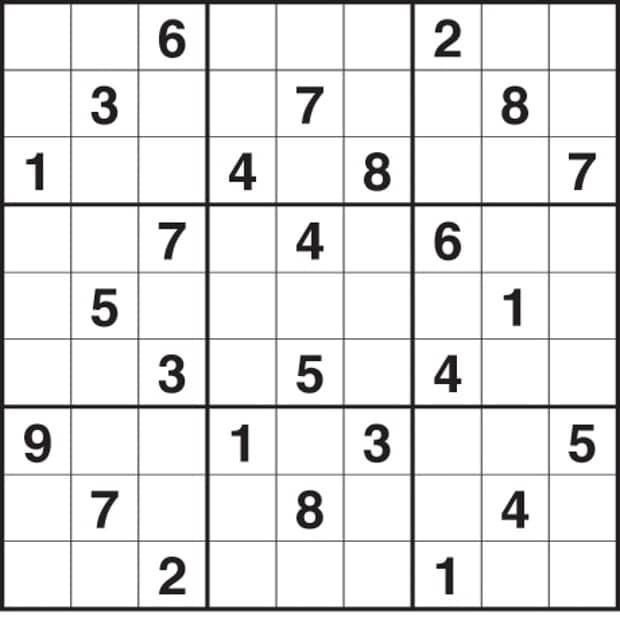 Sudoku Puzzles Print Free