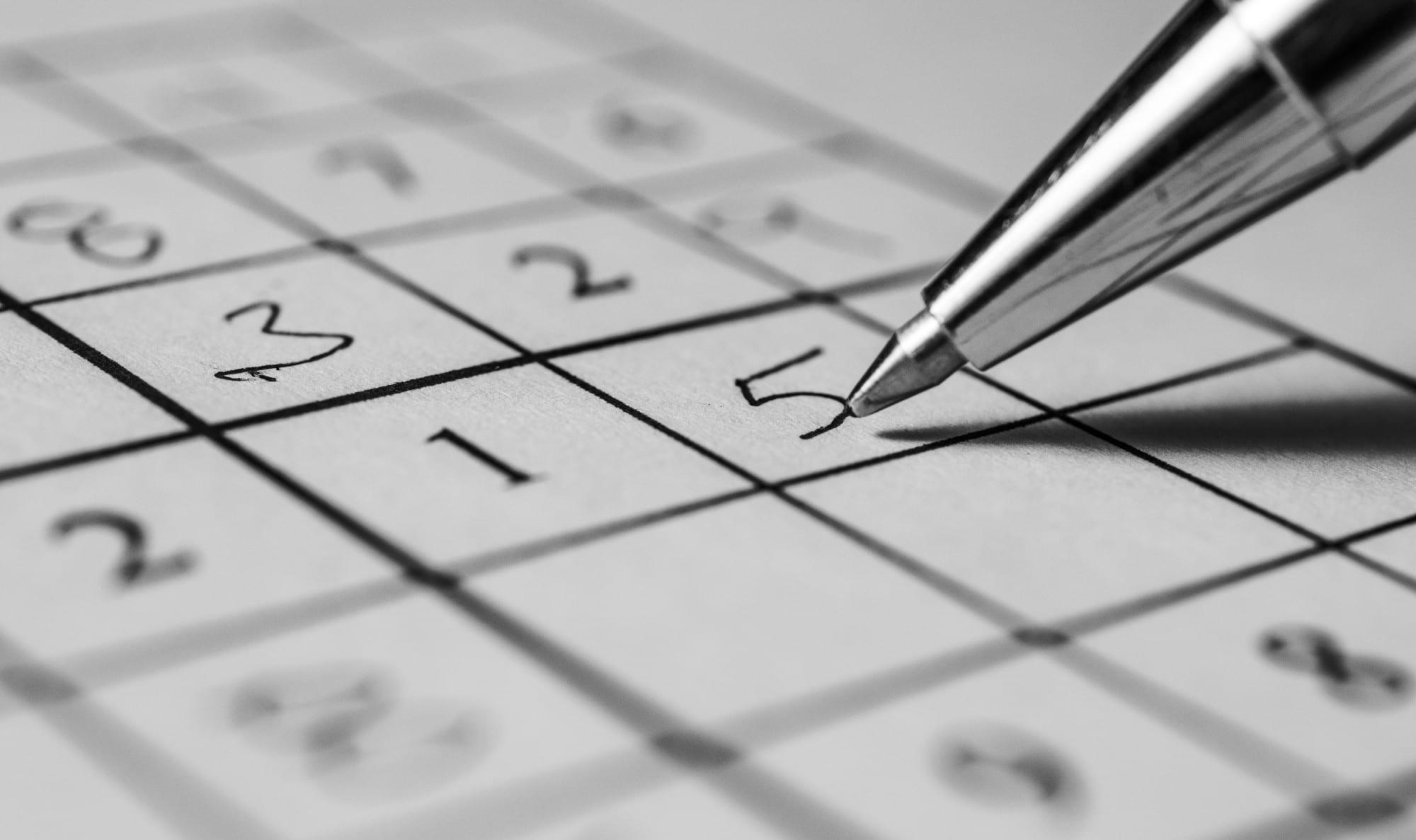 Sudoku Sheet Hints
