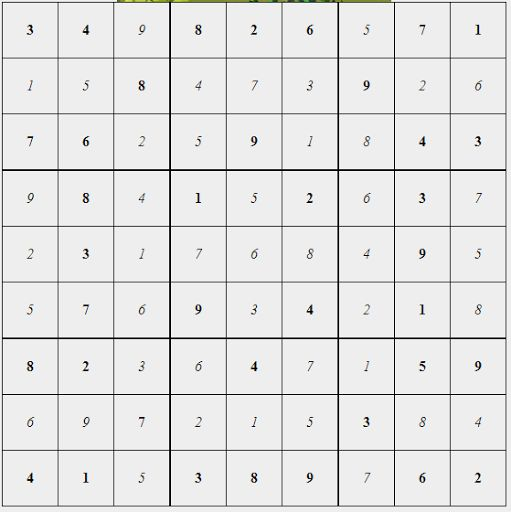 Sudoku Solver Free Online