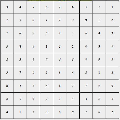 Sudoku Solver Free Online