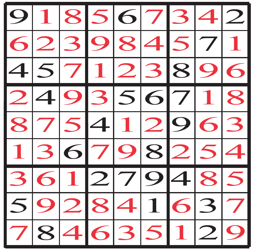 Sudoku With Answers Download