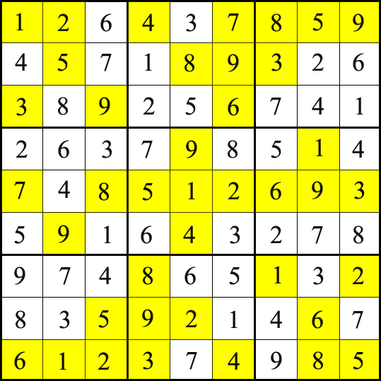 Sudoku With Answers Easy