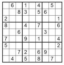 Super Sudoku Chart