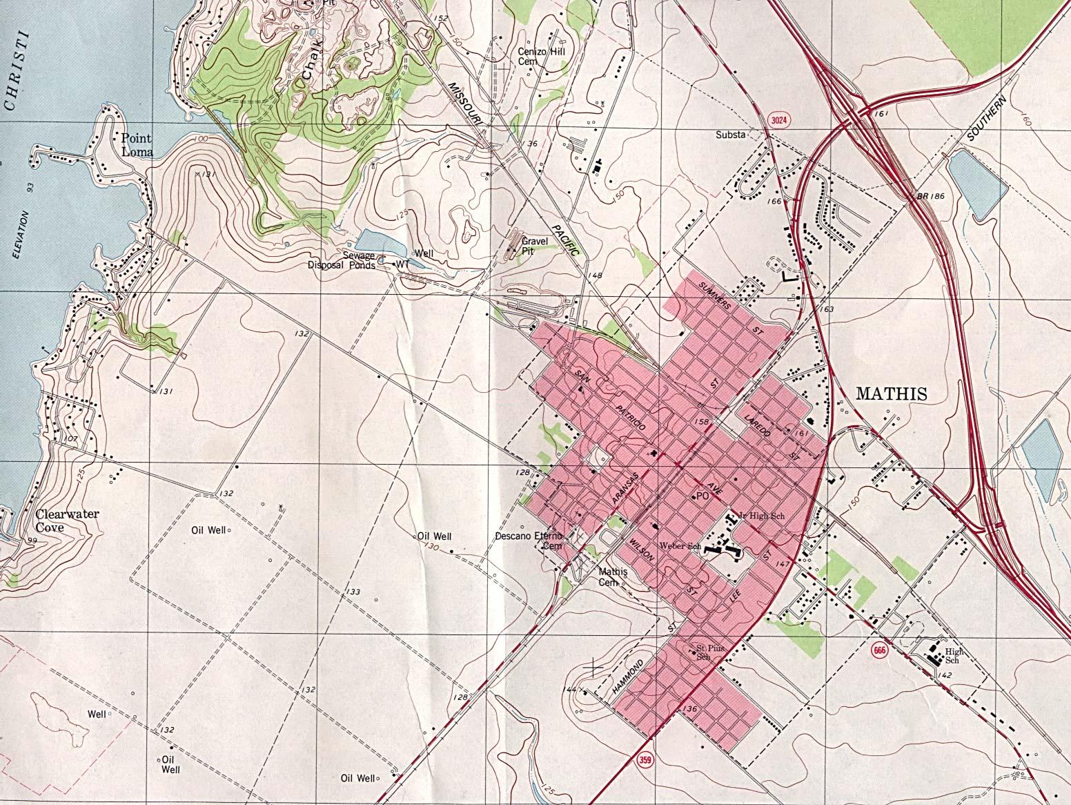 Texas City Map Google