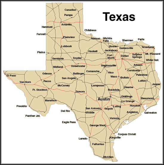 Texas Citymaps