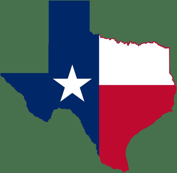 Texas Map Drawing
