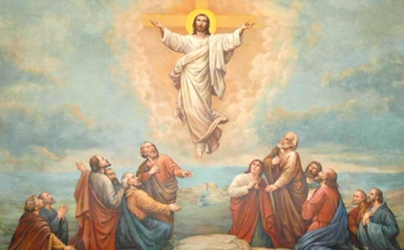The Ascension of Jesus Image