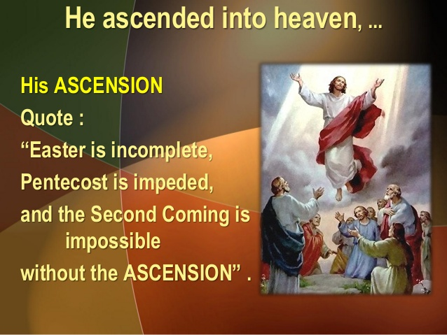 The Ascension of Jesus Quotes