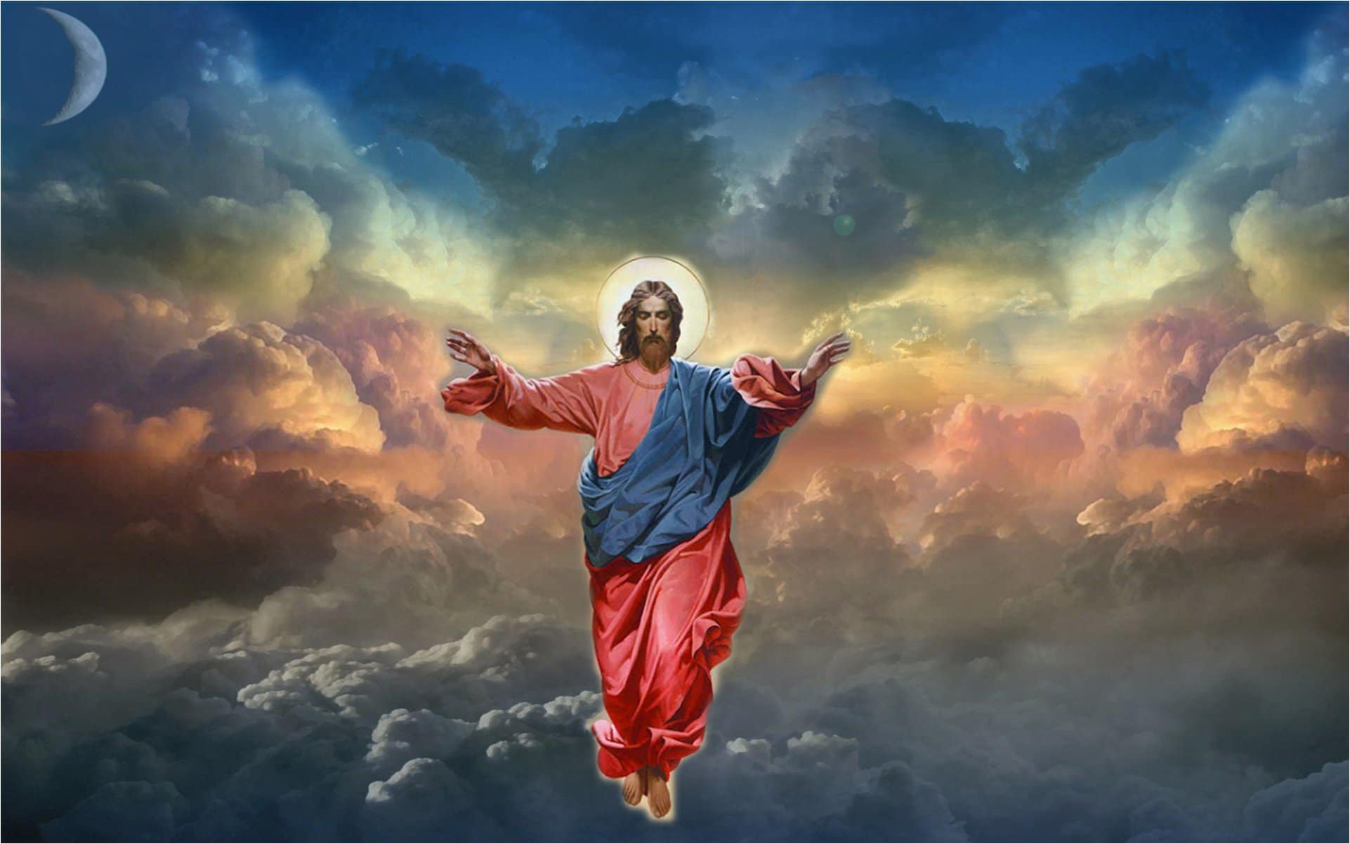 The Ascension of Jesus Wallpaper