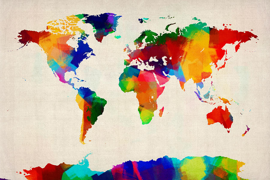 The World Map Art