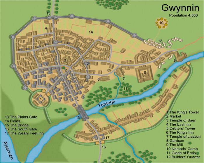 Town Map Design