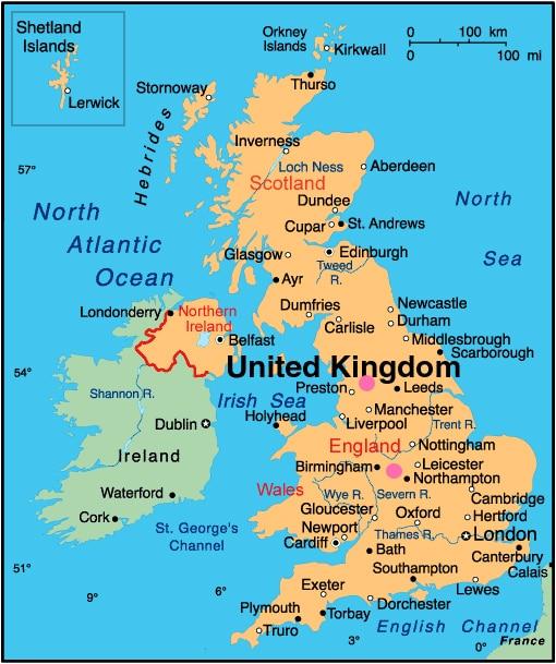 UK Map Center