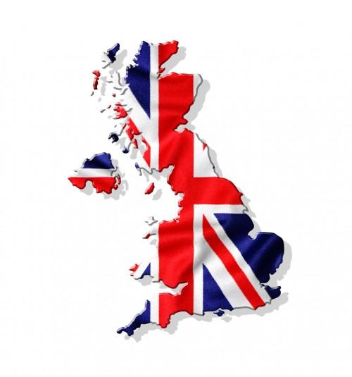 UK Map Flag