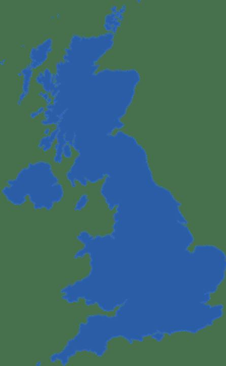 UK Map Graphic
