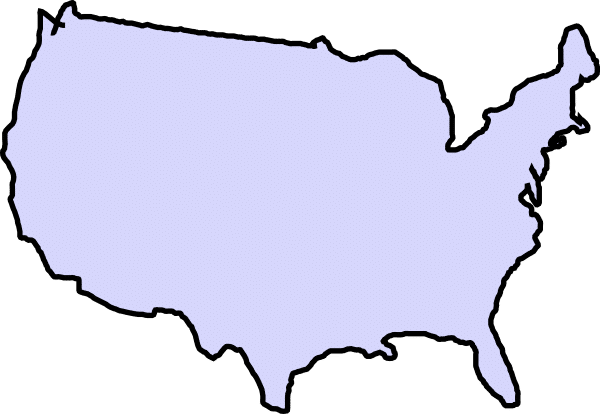 US Map Outline