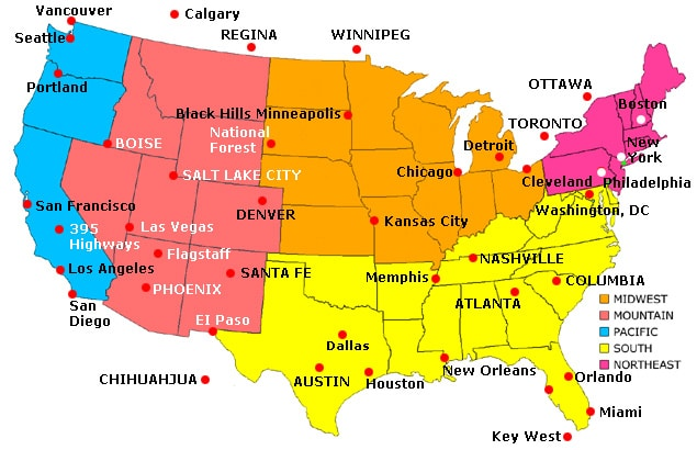 USA Map Cities Download
