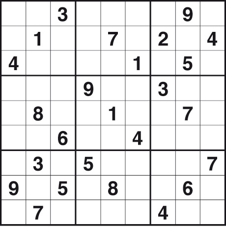 Very Difficult Sudoku
