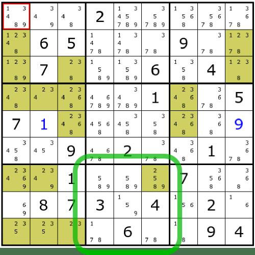 Very Hard Sudoku Tactis