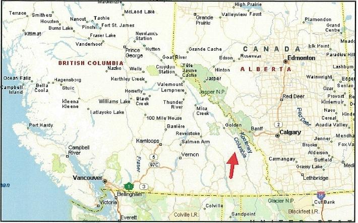 Road Map Western Canada Western Canada Road Map – Oppidan Library