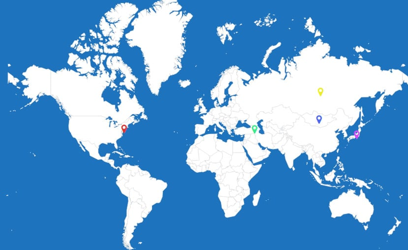 WordPress Interactive Map