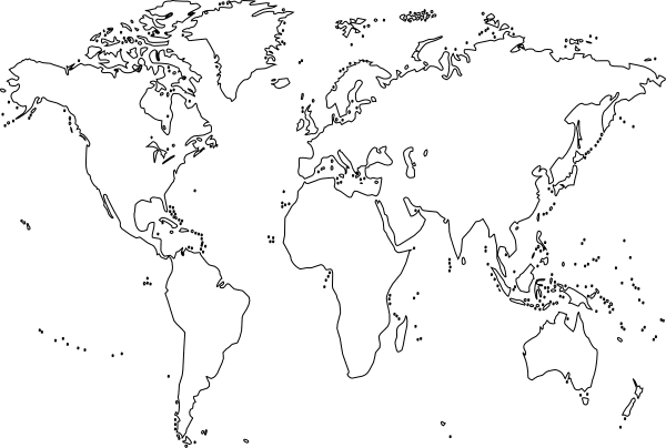 World Map Blank Download
