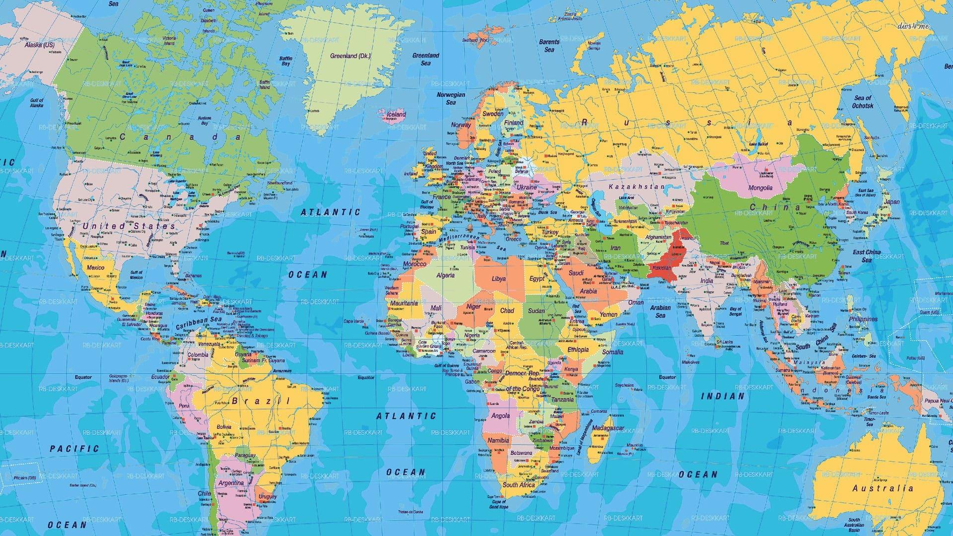 World Map Download Free