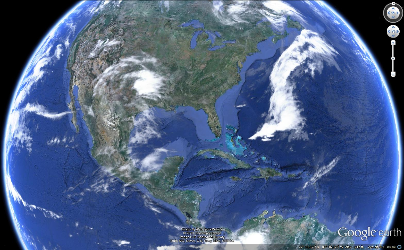 World Map Satellite Online