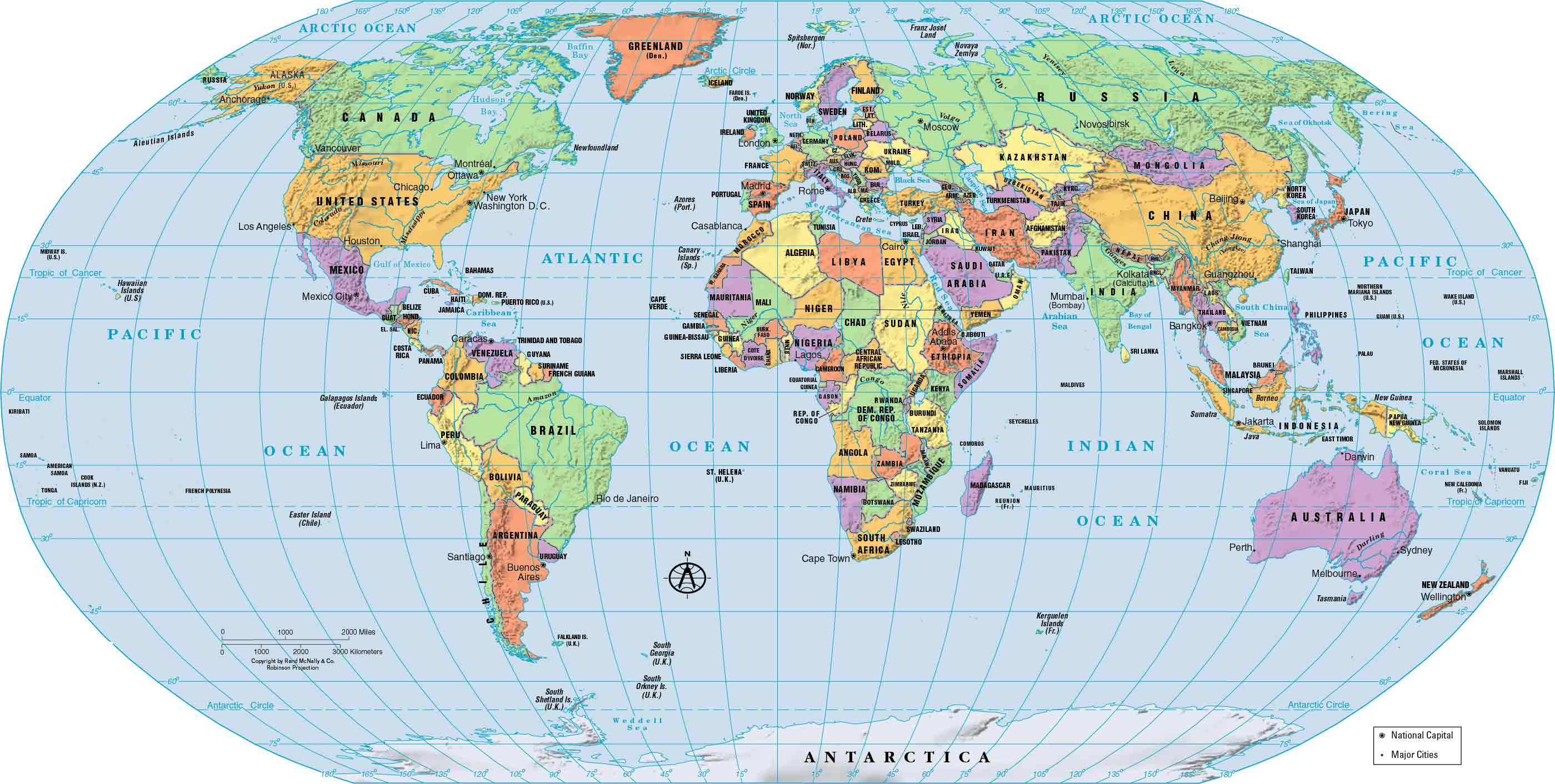 World Map With Countries Download