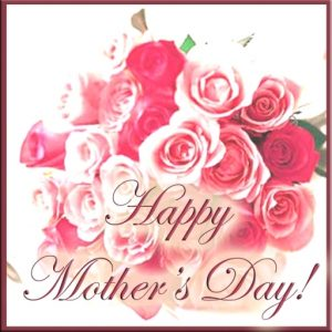 Happy Mothers Day Greeting Photo