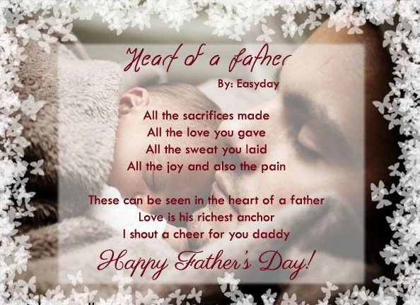 Christian fathers day poem and saying