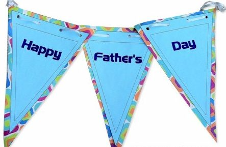 Father's day banner Design