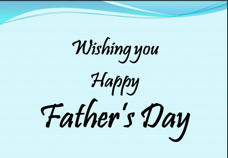Father's day card Best wishes