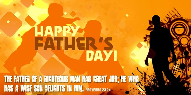 Father's day card wishes Image