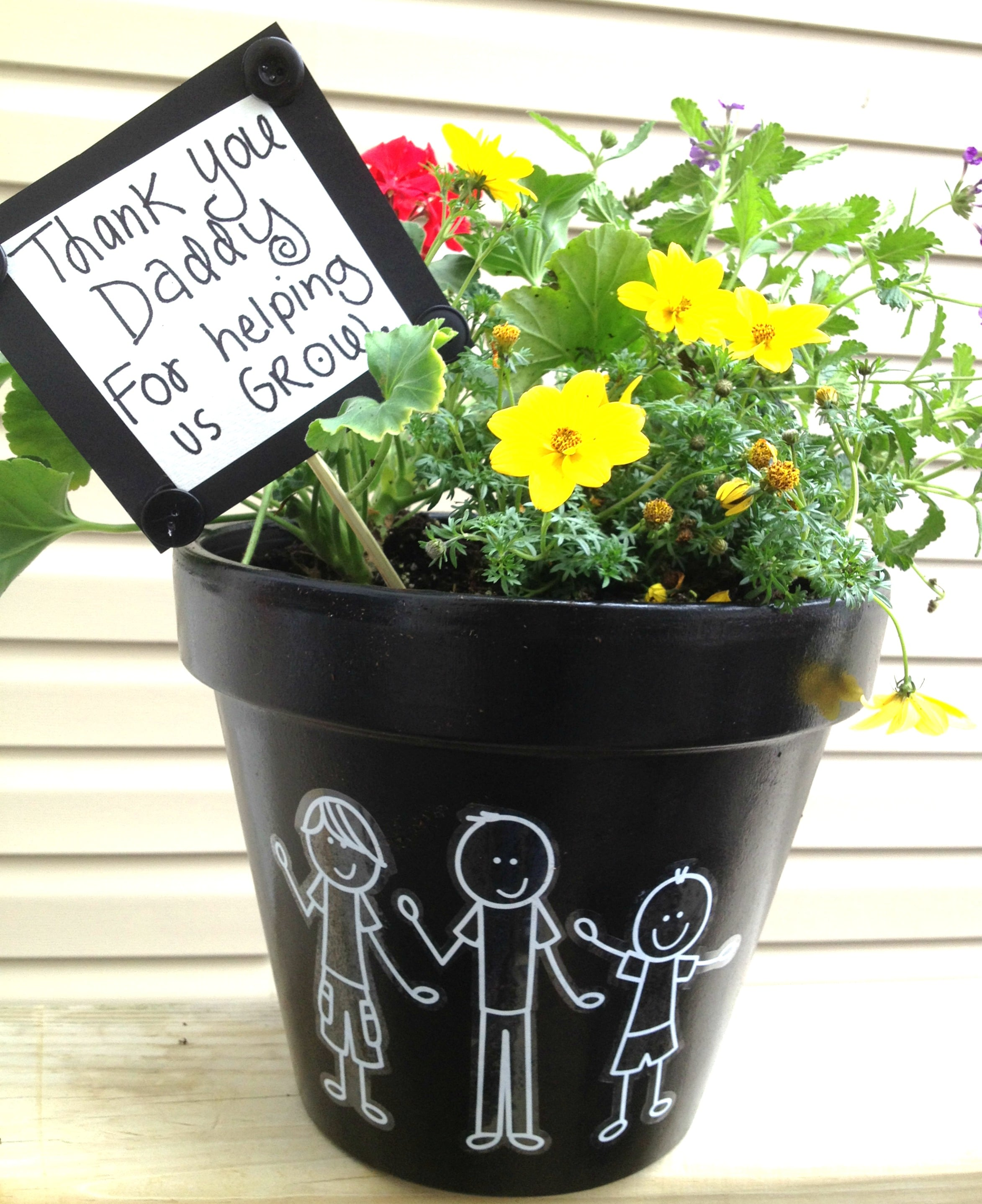 Father day flower Idea