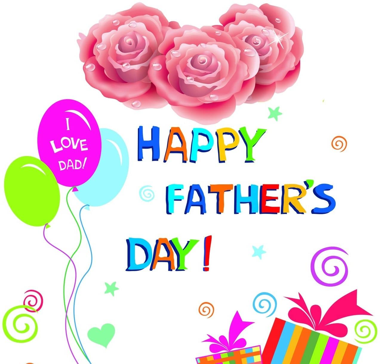 Fathers Day Greeting Design